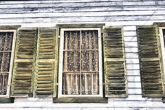 Window of a old wooden house Royalty Free Stock Photography