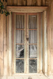 Window of an old wooden house Royalty Free Stock Photography