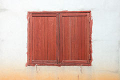 Window old wooden. Royalty Free Stock Photography