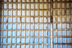 Window of old wooden for texture Stock Photos