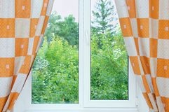 Window with open royalty free stock image