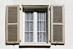 Window with Open Shutter Royalty Free Stock Image