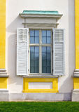 Window with open shutters Stock Image