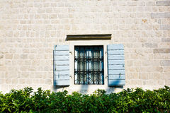 Window with Open Wooden Shutters. Stock Photography
