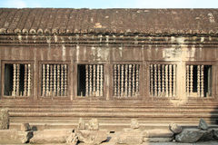 Window opening at angkor wat Stock Images