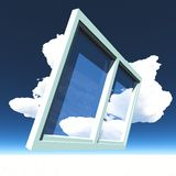 Window of opportunity Stock Image