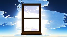 Window of opportunity Stock Images