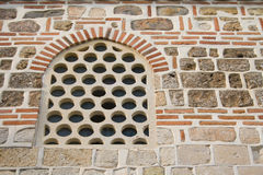 Window. Ornate window of a mosque in Eastern Europe Royalty Free Stock Photos