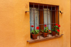 Window outdoors from house Royalty Free Stock Photography