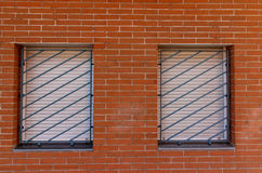 Window outdoors from modern build Royalty Free Stock Photo