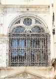 Window of palace in Venice Royalty Free Stock Images
