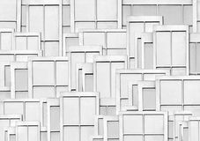 Window Panes. An arrangement of individual opaque windows Royalty Free Stock Image