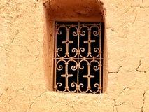 Window in kasbah. royalty free stock image