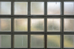 Window pattern. Industrial type window in squares Royalty Free Stock Photo