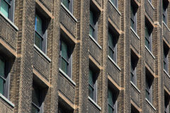 A Window Pattern. A random building facade with its windows Stock Photography