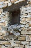 A Window in Penalba de Santiago stock images