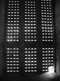 Window. In Phonm Pen, Cambodia. museum of the victims of the Khmer Rouge, dictator Pol Pot, Tuol Sleng Stock Photography