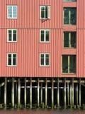 Window pilework Stock Image