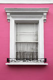 Window pink Stock Photo
