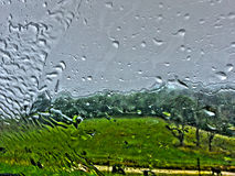 Window2 piovoso Immagini Stock Libere da Diritti