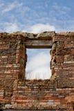 Window, Port Arthur. Window view from old Port Arthur penitentiary, Tasmania, Australia royalty free stock images