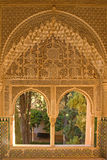 Window portal decorated in moorish style Royalty Free Stock Photography