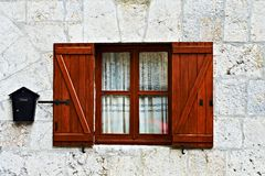 Window and Postbox Stock Photography