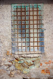 Window of a prison Stock Image