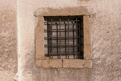 Window of a prison Royalty Free Stock Images