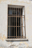Window of prison in Jerusalem old city Royalty Free Stock Photo