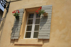Window in the Provence Royalty Free Stock Photo