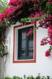 Window in Puerto de Mogan Stock Image