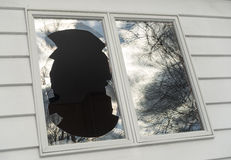 Window_1 quebrado Imagem de Stock Royalty Free