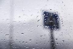 Window rain drops Royalty Free Stock Photos