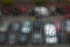 Window Raindrops - Stock Image Stock Image