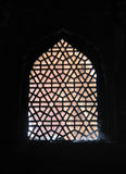 Window, Red Fort, Agra. The Palace, Red Fort, Agra, India Royalty Free Stock Photos