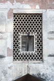 Window Red Fort, Dehli, India. Arabic window detals. Mosque in the Red Fort royalty free stock photos