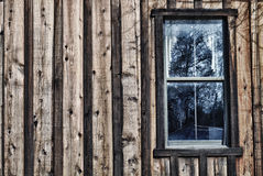 Window with reflection. HDR Stock Photos