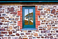 Cottage window Royalty Free Stock Image