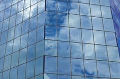 Window reflections Stock Photo