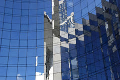 Window Reflections #1 Stock Photo