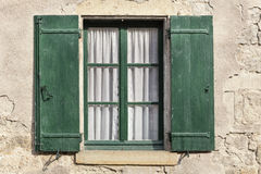 Window on a residential home in France Stock Photography