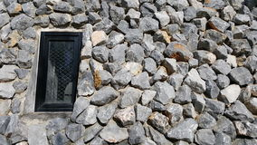 Window in a rock Stock Image