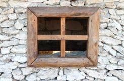 Window in the Rock Stock Image