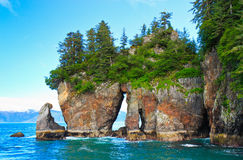 Window Rock, Kenai Fjords National Park Stock Photography