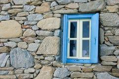 Window in rocks Stock Photo