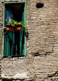 Window in Roman Ruins Royalty Free Stock Image
