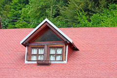 Window on roof Stock Photography