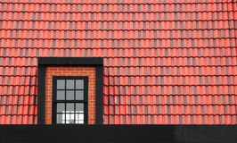 Window on the roof Royalty Free Stock Photos