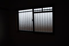 The window of the room. I took a window from the interior Royalty Free Stock Photos
